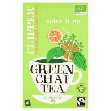 (3 PACK) - Clipper Green Chai Tea - Organic| 20 Bags |3 PACK - SUPER SAVER - SAVE MONEY