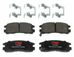 TRW TPC0383 Premium Ceramic Rear Disc Brake Pad - Brake Disc Colt