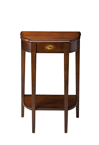 Butler Specialty Foyer Table - Butler Specialty Demilune Console Table in Plantation Cherry