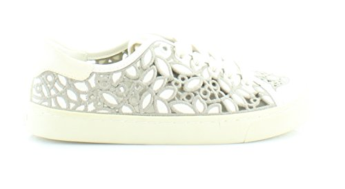 Tory Burch Rhea Lace Up Sneakers Ivoor / Cement