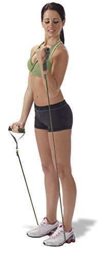 Empower Deluxe Total Body Beginner/Intermediate Toning System, Black/Green Body Toning Systems