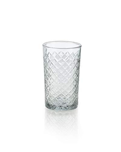 (Serene Spaces Living Cut Glass Votives, Set of 6, Size: 2.5