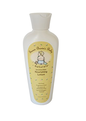 Susan Brown's Baby Sensitive Nourishing Lotion, Oil & Fragrance Free , 7.6 Ounce