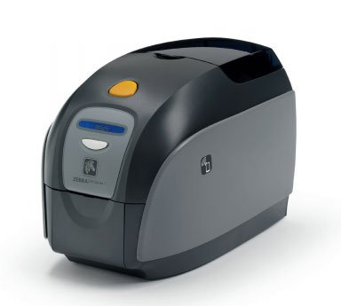 Zebra ZXP 1 Single-Sided ID Card Printer with MSE and Monochrome Media Starter Kit (P/N Z11-0M0CG000US00) (Starter Single Sided)