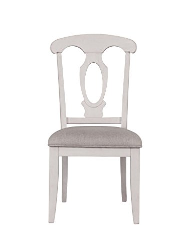 Broyhill 4547-581WHT Ashgrove Upholstered Dining Chairs, ()