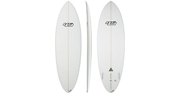 haydenshapes Unisex hypto Krypto PE Tabla de surf Transparente transparente Talla:5 4