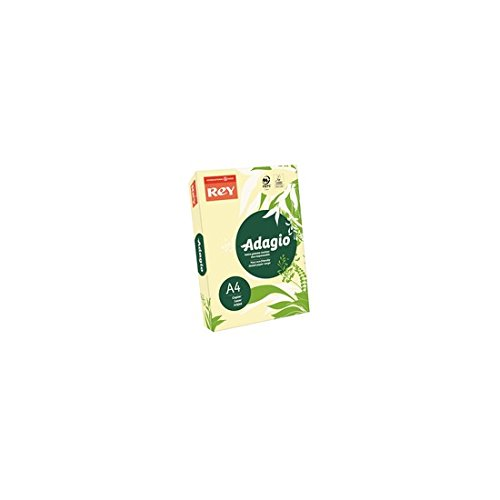 (Adagio A4 160 GSM Rey Paper - Canary (Pack of 250 Sheets),201.1202)