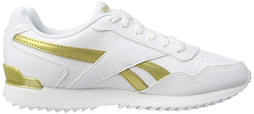 Rplclp Basses Blanc white Met Reebok Sneaker white Royal Femme 000 Glide gold 1Eqf7wB