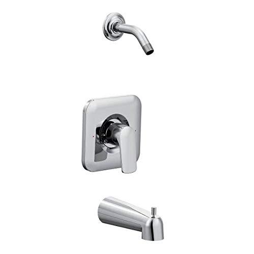 RIZON POSI TUB/SHOWER TRIM NO HEAD CHR / Chrome Posi-Temp(R) tub/shower