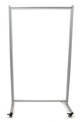 Mobile Magnetic Whiteboard Room Divider Photo #3