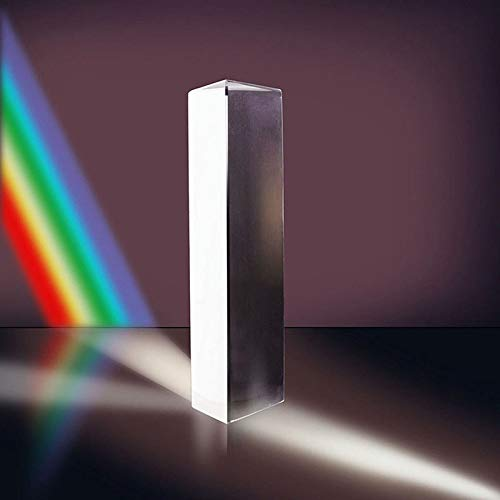 Dichroic Prism - 1pcs Optical Glass Triple Triangular Prism Physics Teaching Light Spectrum Refractor Experiment - Instrument Flutes Lights Figurines Miniatures Lens Nano Camera Double Convex S
