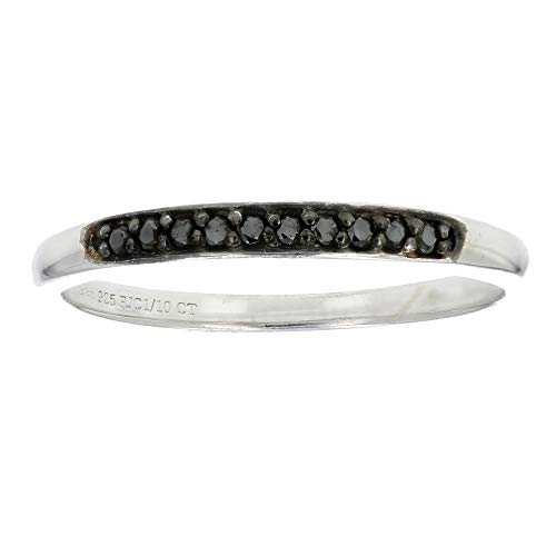 110-cttw-Prong-Set-Black-Diamond-Ring-in-925-Sterling-Silver-Sizes-5-to-10