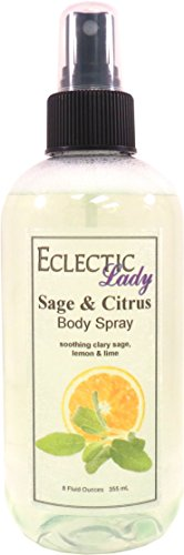 Sage And Citrus Body Spray by Eclectic Lady