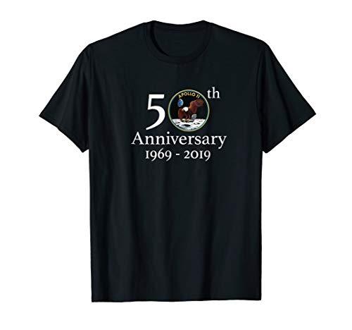 Apollo 11 50th Anniversary Shirt NASA Moon Landing Logo Tee