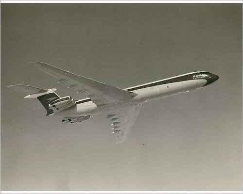 Photographic Print of Vickers Super VC10 G-ASGO in BOAC markings from Prints Prints Prints