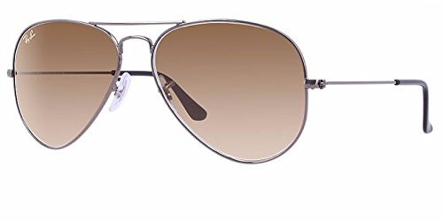 Ray Ban RB3025 004/51 55M Gunmetal/ Brown Gradient - Rb3025 Gradient Brown