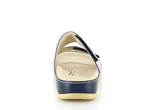 Vital 0938-26-14 Nappa Tintenblau Unisex Pantoletten