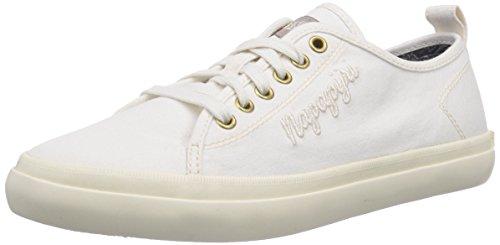 Sneakers Erin White Femme Blanc Weiß Footwear N20 Basses off Napapijri nxfES5