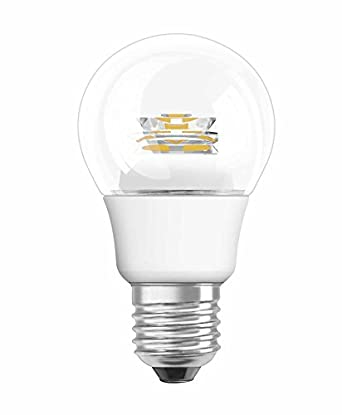 osram led bulb e27 star classic a led light 5w 40 watt replacement classic bulb shape. Black Bedroom Furniture Sets. Home Design Ideas