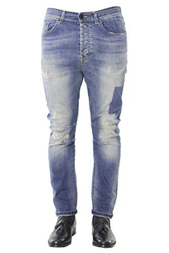 Modello Uomo Tasche Con Denim Slim Sfumature Jeans Da Lavaggio Fit Casual Vestibilità Messagerie Chiaro 5 qxafwpzz