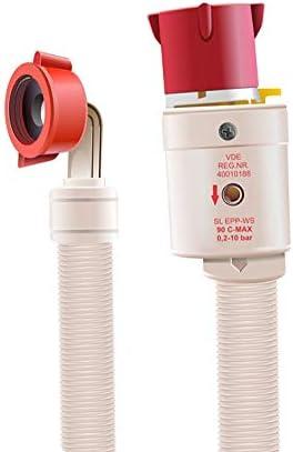 Aquastop - Tubo de entrada para lavadora o lavavajillas (1,5 m, 150 cm)