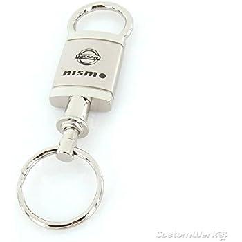 Nissan Nismo Satin Chrome Valet Keychain