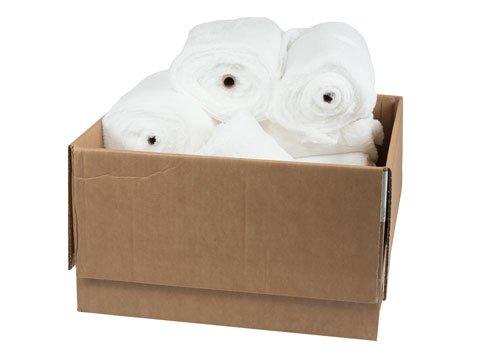 RagLady Hermitex Purified Wiping Cloths - Case of 12 Rolls