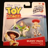 SPANISH BUZZ LIGHTYEAR & JESSIE Toy Story 3 Buddy Pack DISNEY / PIXAR Mini Figures * 2 Pack * (Toy Story Buttercup)
