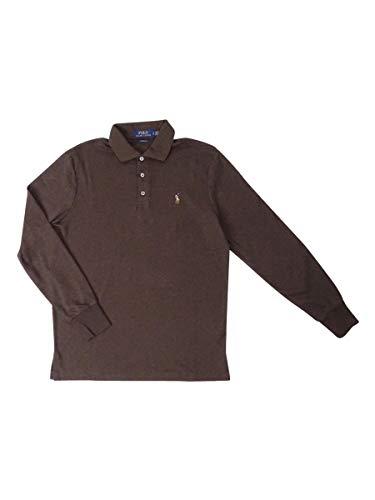 Polo Ralph Lauren Men's Classic-Fit Soft-Touch Polo (S, Alpine Brown Heather) (Ralph Lauren Alpine)