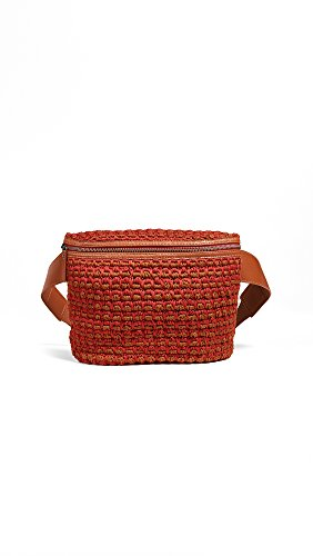 Rachel Comey Women's Keno Fanny Pack, Red/Rust/Whiskey, One Size