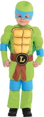 Amscan Teenage Mutant Ninja Turtles Leonardo Muscle Halloween