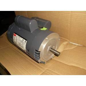 Dayton 1 HP General Purpose Motor,Capacitor-Start/Run,1725 Nameplate RPM,Voltage 115/208-230,Frame 56C
