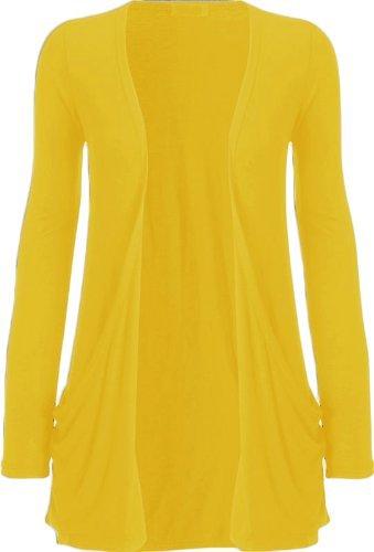 Up Town - Suéter para mujer abierto chaqueta con bolsillos profundos ... 5c91808cdeca