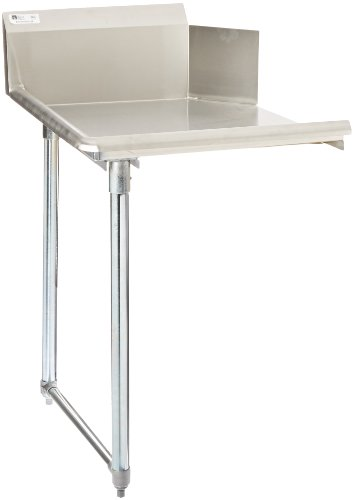 John Boos E-Series Stainless Steel Straight Clean Dishtable, 26