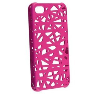 (Hot Pink Color / Bird Nest Design Hard Case / Skins / Cover for iPhone 5 5G 5th New)