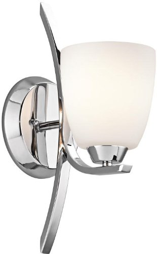 Kichler 45358CH Granby Wall Sconce 1-Light, Chrome