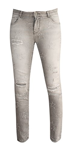 Femme Zhrill Grey W0082 Jeans Unique Taille fcfq5OUw