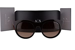 Armani Exchange AX4053S Sunglasses Phantom Brown w/Brown Gradient Lens 817513 AX 4053S For Women