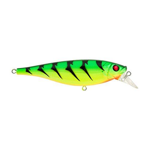 Fire Tiger Hard Bait - Berkley Juke Fishing Hard Bait, Fire Tiger, 78/ 3/8 oz/ 3