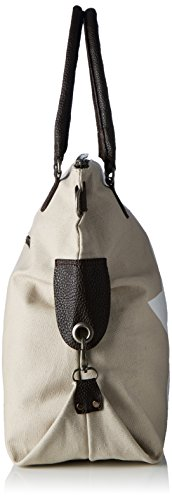 Bags4Less F3151, Borsa a tracolla Donna Beige (Beige Weiss)