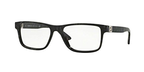 Versace VE3211 Eyeglass Frames 5145-55 - Grey Marble VE3211-5145-55