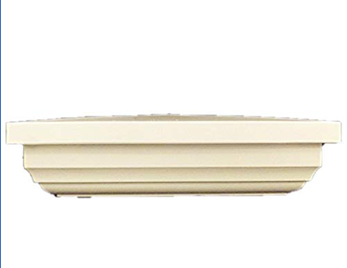 "New England Post Cap 5"" White Provides an Elegant and Distinguished look to Your Yard and Fence!"