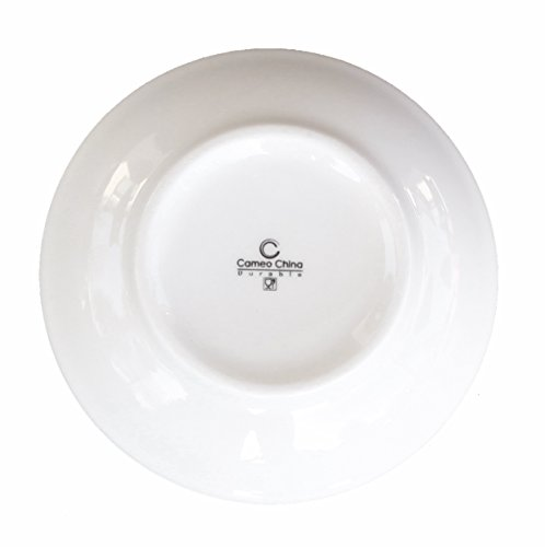 Ceramic Side Sauce Dish and Pan Scraper, 3.75 Inch, 3 Ounce, Bone White, 12-Pack by MBW NW Brands (Image #6)