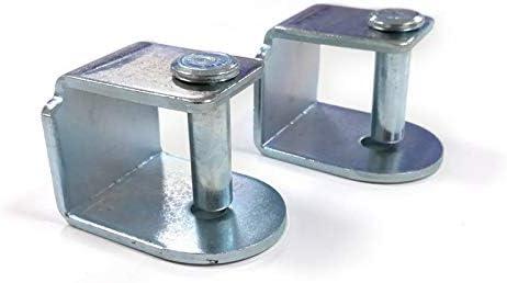 Dreaming Kamahaus Pack de Abrazaderas para somier | 4 Unidades | Apta para Patas con Tornillo de 10mm |Compatible con somier de 30x40 | Acero |: Amazon.es: Hogar