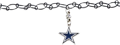 Siskiyou NFL Dallas Cowboys Knotted Choker, Black, Stretch]()