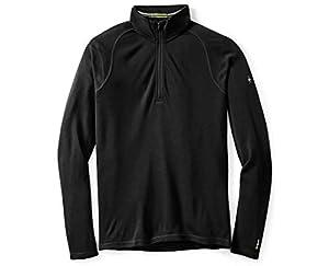 Smartwool Men's Base Layer Top – Merino 250 Wool Active 1/4 Zip Outerwear