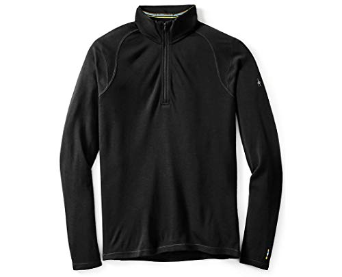 Smartwool Men's Base Layer Top - Merino 250 Wool Active 1/4 Zip Outerwear