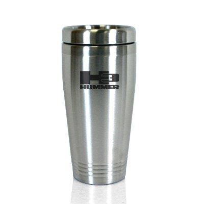 hummer-h3-brushed-stainless-steel-travel-mug