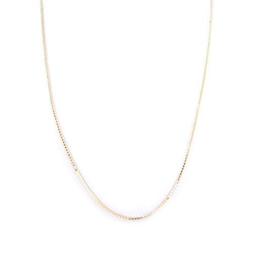 Hi-plated gold 'Venitienne' 50 cm (19.69'') 1.6 mm (0.06'').