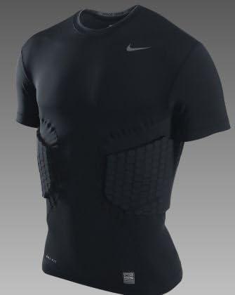 oro Obstinado Rubicundo  Amazon.com : Nike Pro Combat Hyperstrong Football 3 Pad Shirt (3XL) :  Clothing